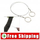 Useful Commando Wire Saw Survival Tool for Outdoors Free Shipping