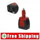 12V DC to 220V/110VAC 75W Power Inverter Free Shipping