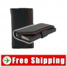 Leather Case Holder Pouch for iPhone 4G Magnetic Flap FREE Shipping