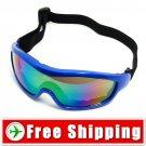 Snowboard Ski Goggles Anti-Fog Anti-Scratch Blue Frame FREE Shipping