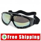 Sport Ski Snowboard Goggles Anti-Fog Anti-Scratch Black FREE Shipping