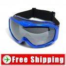 Anti-Fog Dual Lens Ski Snowboard Goggles Blue Color FREE Shipping