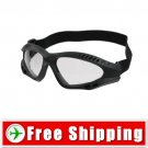 New Tactical goggles Protect Eyes Black Frame FREE Shipping