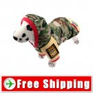 Dog Cotton-padded Camouflage Coat Clothes with Hoodie FREE Shipping