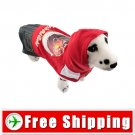 Pullover Style Dress Clothes Red for Dog Pet FREE Shipping