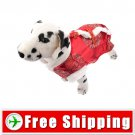Cute Tang Suit Style Dress Red Color for Dog Pet FREE Shipping