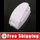 Mini Plastic Bag Vacuum Sealer Machine White FREE Shipping