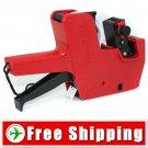 Universal Retail Price Tag Labeller Gun Red FREE Shipping