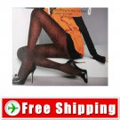 Lady Tights Pantyhose Leggings Black Color Print 600D FREE Shipping