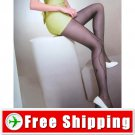 Sexy Sheer Side Floral Tights Pantyhose Leggings Black FREE Shipping