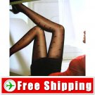 Sexy Tights Pantyhose Leggings Heart & Net Style Black FREE Shipping