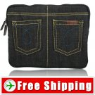 New Velvet and Jeans Protects Carrying Bag for ipad 2 FREE Shipping