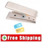 Microsim Card Cutter and 2x Adapter for iPad iPhone 4 FREE Shipping