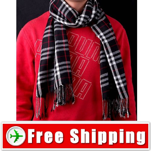 Unisex Checkered Pattern Style Scarf Outdoors Stylish FREE SHIPPING