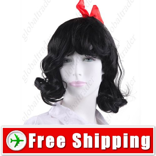 Synthetic Princess Curly Wig with Bowknot Hairpiece FREE SHIPPING