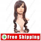 Synthetic Capless Natural Long Wavy Curly Wig Hairpiece FREE SHIPPING