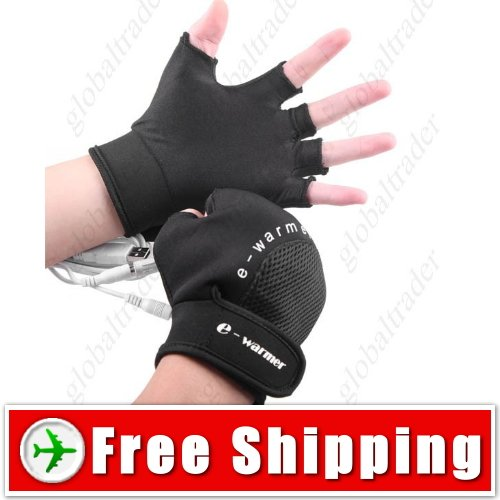 Professional USB Powered Heated Warm Gloves for Unisex FREE SHIPPING