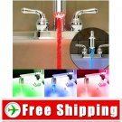 3-Color Changing LED Water Tap Light Temperature Sensor FREE SHIPPING