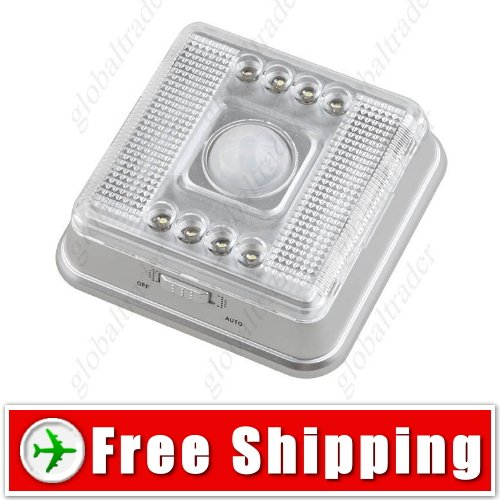 Auto Passive Infrared Motion Activated Sensor Lamp FREE SHIPPING