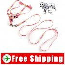 Pet Dog Nylon Leash Lead Strap and Harness for Dog Walk FREE SHIPPING