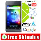 4 inch 3G Unlocked 2-Sim Android 2.3 Cell Mobile Phone WiFi Car Home