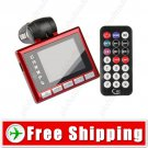LCD 2GB Car MP4 Player Wireless FM Transmitter USB Jack SD MMC Slot