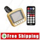 1.8 inch Screen Car MP4 Player - Wireless FM  USB Jack SD MMC Slot