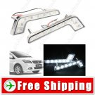 New 2 x 8 LED Daytime Running Light DRL Head Lamp for Car Automobile