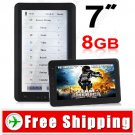 7 inch 8GB E-Book Reader PDF Reader Voice Recorder - Media Player