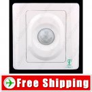 Wall Mount Automatic Infrared Sensor Body Inductive Switch