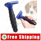 Professional Stainless Steel Dog Pet Deshedding Tool Comb Mini Size