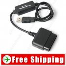 USB Controller PS2 to PS3 PlayStation Converter Adapter Cable - PC PS3