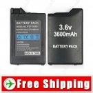 Replacement 3600mAh Lithium Rechargeable Battery for Sony PSP 1000