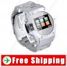 1.2 inch Touch Unlocked Mobile Cell Phone Watch FM Bluetooth