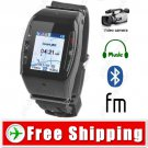 1.2 inch 4-Band Touch Watch Mobile Cell Phone Bluetooth Camera Video