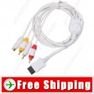 Game Console Composite AV RCA - S-Video Cable for Nintendo Wii