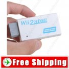 Portable Wii to HDMI Audio 720P 1080P HD Converter Adapter for Wii