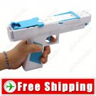 2-in-1 Motion Function Vibrative Rumble Blaster Light Gun for Wii