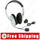 Stereo Ear-cup Headset Headphone - Microphone for XBOX 360