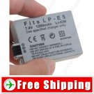 Battery LP-E5 for Canon EOS 1000D 450D 500D Kiss F Kiss X2 Rebel Xsi