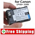 Li-ion Battery LP-E6 for Canon EOS 5D Mark II EOS 70D