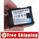 Li-ion Battery BP-809 for Canon HF10 HF100 Digital Camera