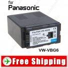 Battery VW-VBG6 for Panasonic AG-H HDC-DX HDC Series Digital Camera
