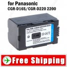 Battery CGR-D220 for Panasonic AG-DVC15 PV-DV100 Digital Camera