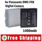 Li-ion Battery for Panasonic DMC-FX8 Digital Camera
