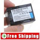 Battery NP-FH70 for Sony HDR-UX5E HDR-HC7E HDR-HC5E HDR-HC3E