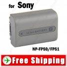 Battery NP-FP50/FP51 for Sony DCR-HC20 DCR-HC30 DCR-HC40 Camera