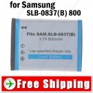 Rechargeable Li-ion Battery SLB-0837B for Samsung L70 NV10