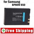 Battery BP80W for Samsung SC-D385SC VP-D381 VP-DX100 SC-DX103