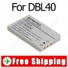 Camcorder DB-L40 DBL40 Battery Pack for Sanyo Xacti DMC-HD1 VPC-HD1